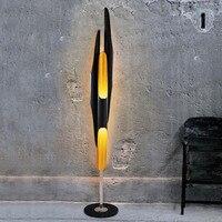 Modern Villa Creative Personality Floor Lamp Living Room Bedroom Study Art Designer Aluminum Floor Lamps