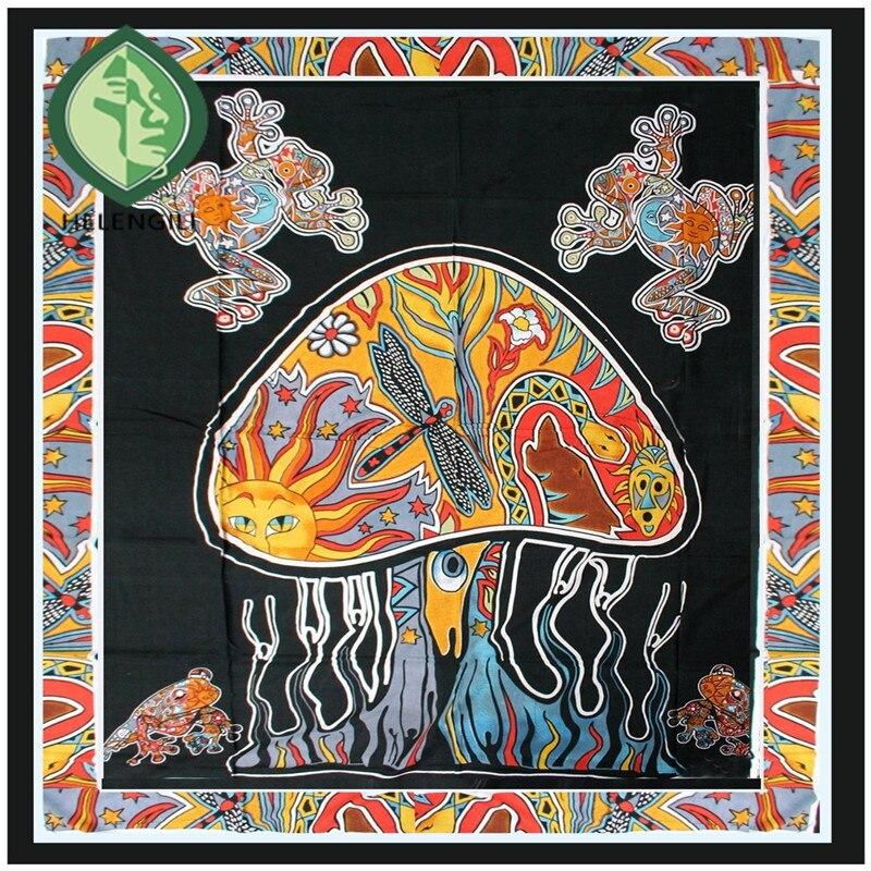 # Een Mandala Indian Boho Muur Tapijt Vierkante Tapestry Strandlaken Tapestry Tapijt En Strand Mat Gordijn Cape Platteland