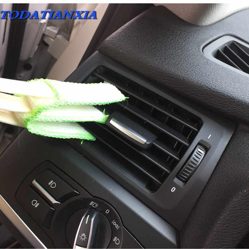 سيارة إلى منفذ الهواء تنظيف فرشاة ل دودج رام 1500 تويوتا كورولا فورد f150 اكسسوارات لكزس is250 دودج رام bmw e60