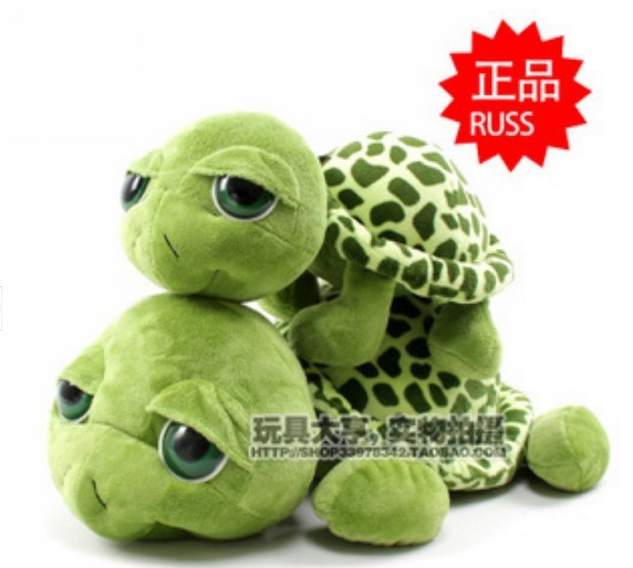 35cm--lovely big eyes small turtle tortoise doll plush toys new year gifts