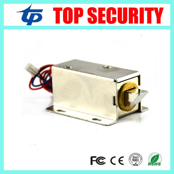 MINI 12V electric cabinet lock electronic NO type fail secuirty cabinet lock electric lock free shipping door control lock digital electric best rfid hotel electronic door lock for flat apartment