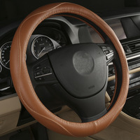 Black Beige Brown Gray Steering Wheel Cover For Mercedes Benz E S Class W211 W213 W212