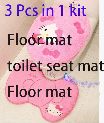3 pcs in 1 kit pink Carpet cover beige 5c64f2c40b3cb