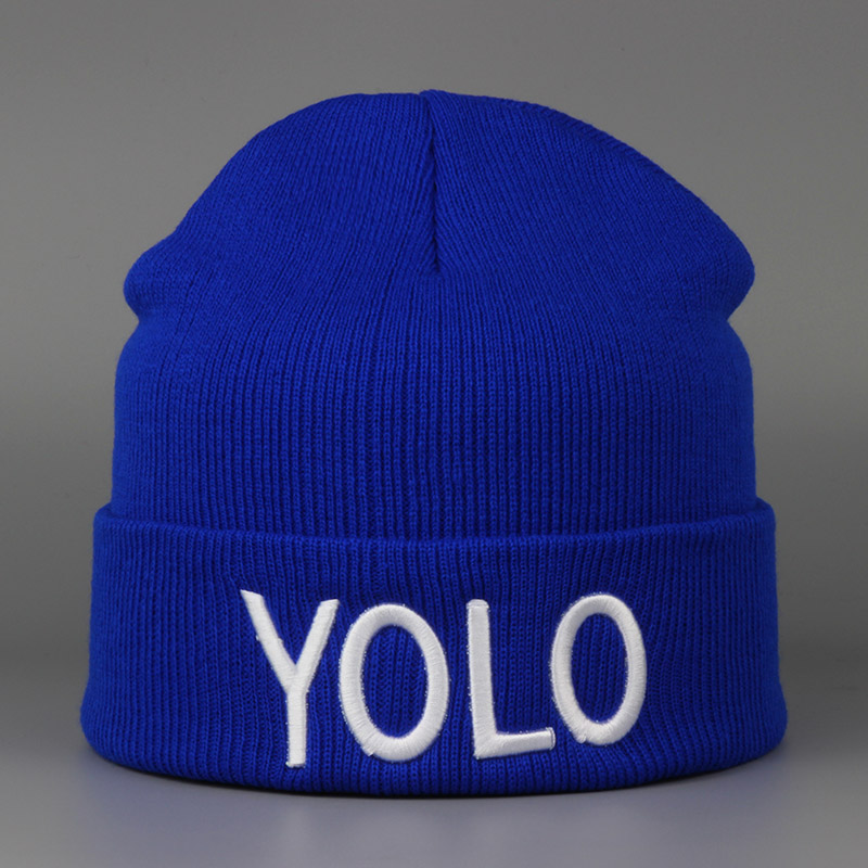 1pc 2016 New Autumn Winter Brand LOYO Beanies Warm Hats Touca Gorros Feminino Bonnets For Women Men Fashion 7 Colors Newest 2016 new fashion letter gorros hats bonnets