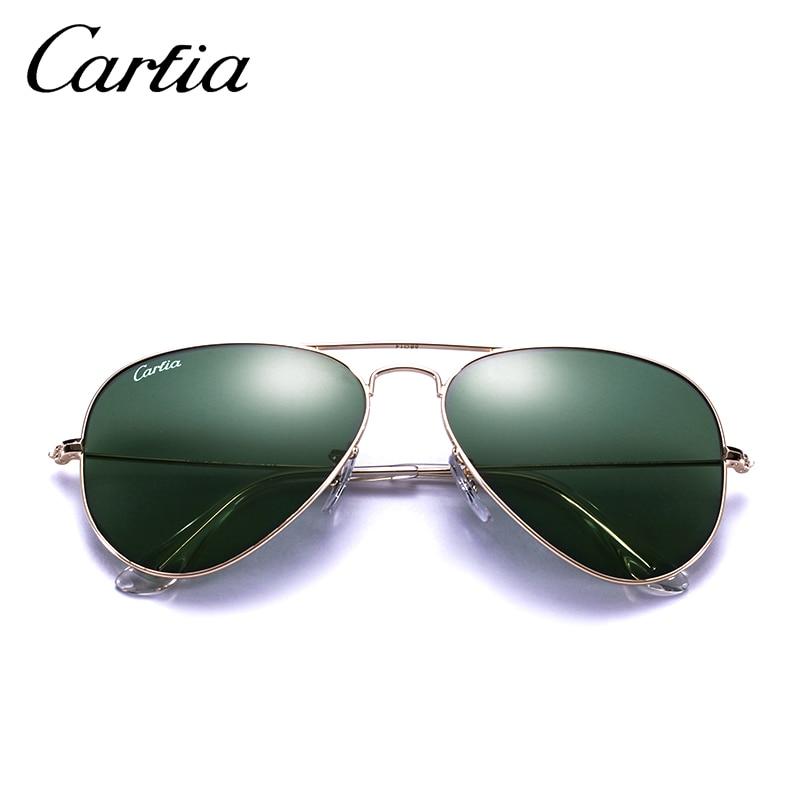 c178ef4a5dee CARFIA Black Aviator Sunglasses Fashion Metal Frame Sunglasses for Women  Men 100% UV protection Glasses Dark Lenses Sunglasses