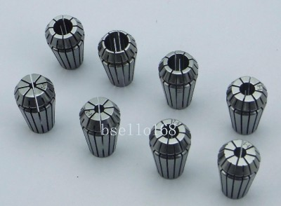 11 pieces ER11 Collet set 2mm to 7mm 0 5 mm increase Precision 0 005mm 0