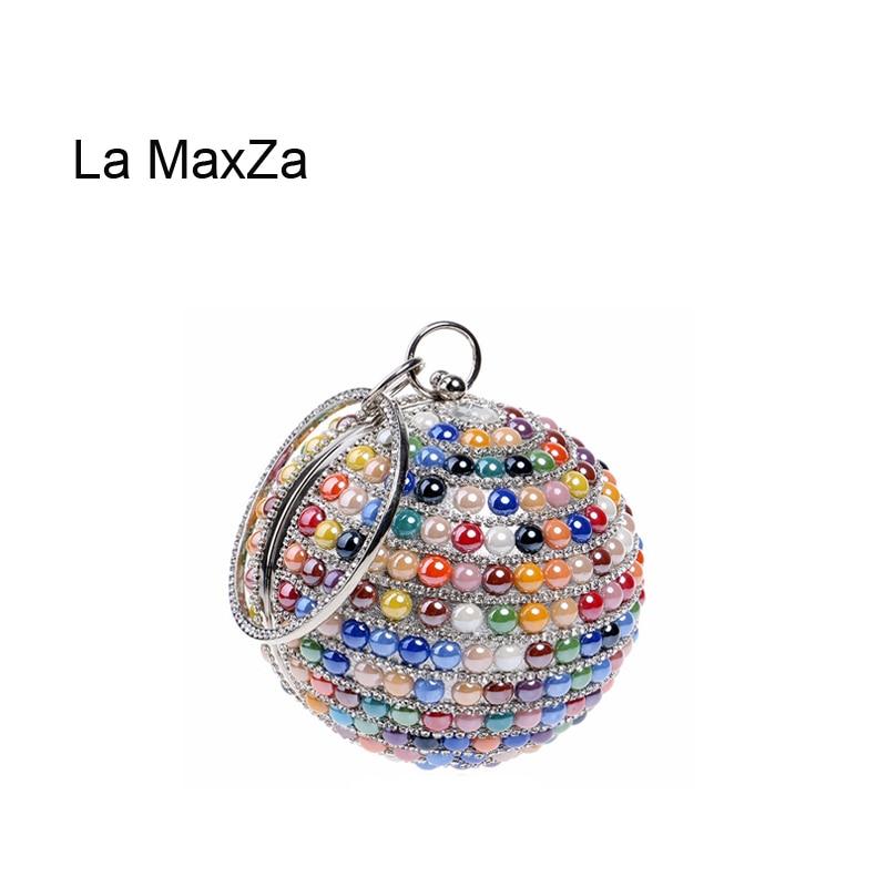 La MaxZa coloré soirée sacs mode fête dames pochette Portable fête Banquet sac femmes soirée sac embrayage sacs à main fête