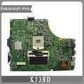 Para asus k53sd rev 2.3 placa madre del ordenador portátil k53e k53s a53s x53s mainboard 100% probó el envío libre