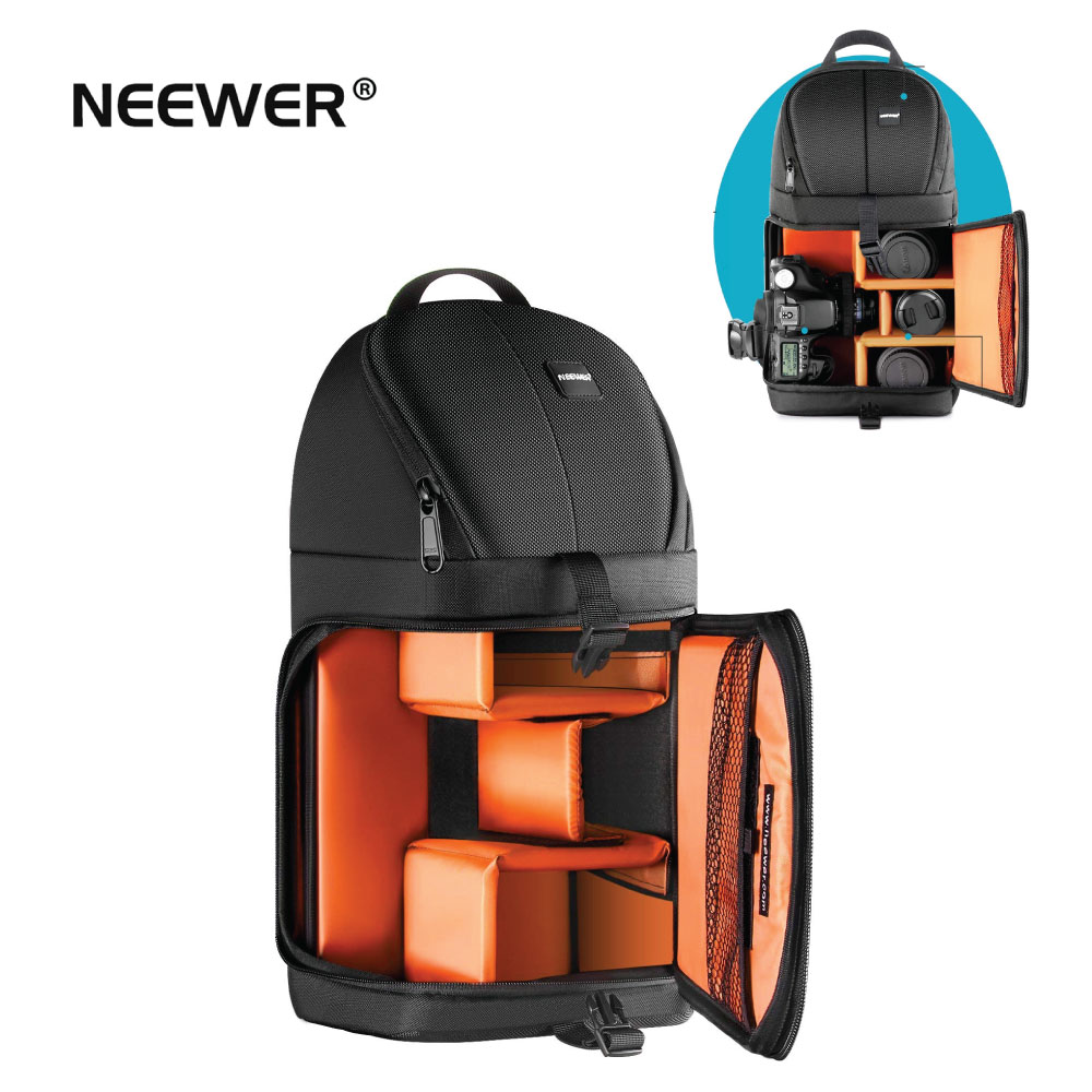 Neewer Professional Camera Case Sling Backpack for Nikon Canon Sony and Other DSLR Cameras Durable Waterproof
