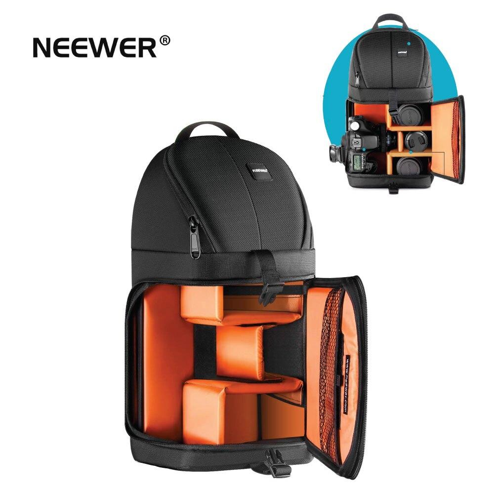 Neewer sac à dos pour appareil photo professionnel sac à dos pour Nikon Canon Sony et autres appareils photo reflex numériques sac résistant à l'eau et à la déchirure-in Sacs pour appareil photo from Electronique    1