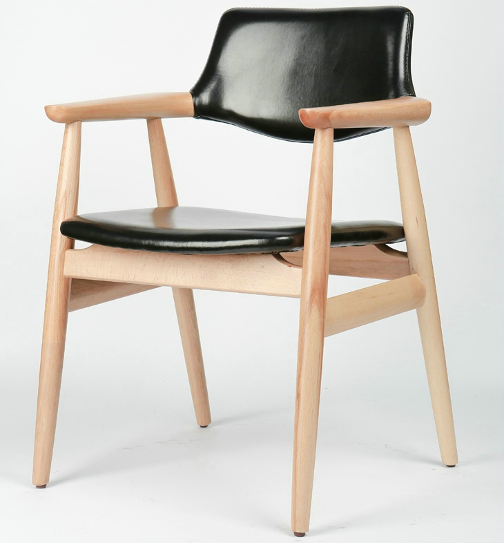 Japanese Ash Wood Dining Chair Leisure Chair Furniture