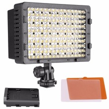 NEEWER 160 LED CN-160 Regulável Ultra High Power Panel Digital Camera/Camcorder Luz de Vídeo, DIODO EMISSOR de Luz para Câmeras SLR Digitais