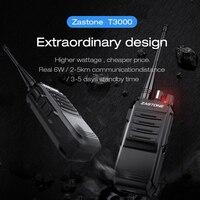 Zastone T3000 6W UHF 400 520mhz Walkie Talkie Professional CB Radio Station Portable Hunting radio