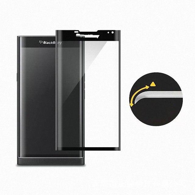for BlackBerry Priv WIERSS 3D Full Cover Tempered Glass Screen Protector for BlackBerry Priv Glass film