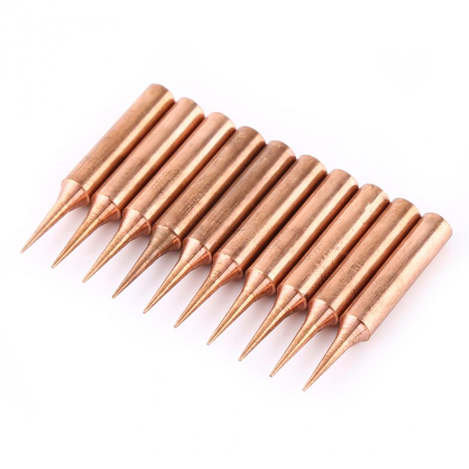 10Pcs/Lot Soldering Tips Pure Copper Low Temperature Soldering Iron Solder Tips Replacement Repair Station 900M T I-in Welding Tips from Tools on Aliexpress.com | Alibaba Group