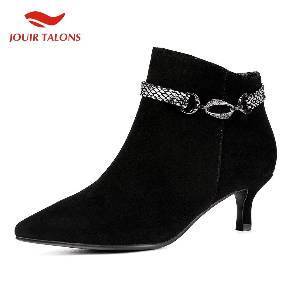 Mode haut sexy qualité enfant daim cuir automne bottes femme chaussures talons fins noir vert élégant chaussures femme bottes chaussures