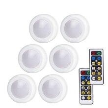 Светодиодный ночник Xsky, светильник беспроводной светильник с дистанционным управлением, на батарейках, сенсорный экран, под шкаф, настенная лампа для кухни