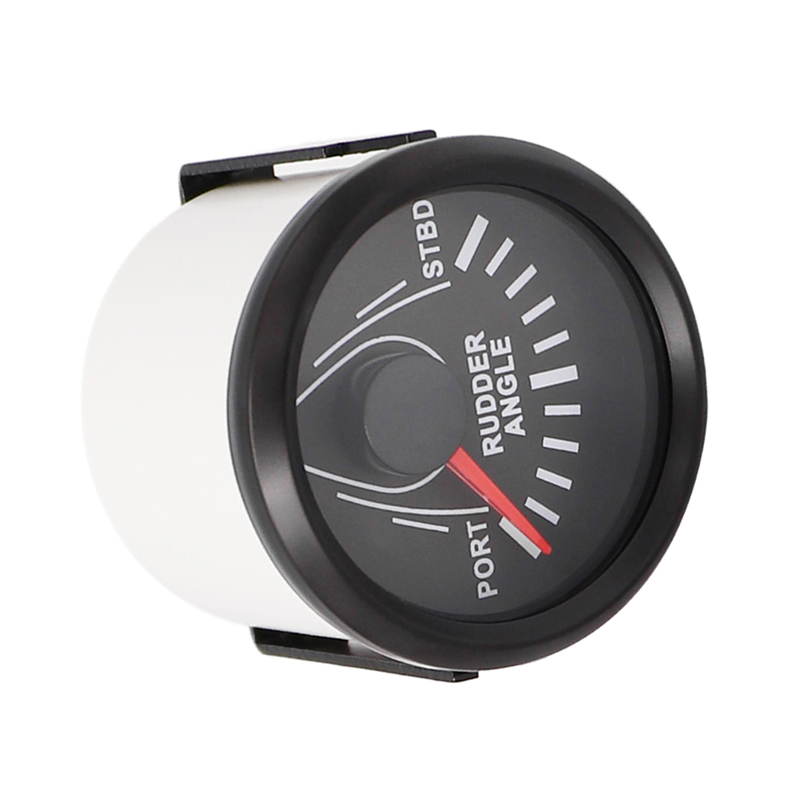 Boat Electronics & Navigation 85mm Rudder Angle Indicator Gauge Meter 0-190ohm With Mating Sensor 9-32V Silver Auto Parts and Vehicles