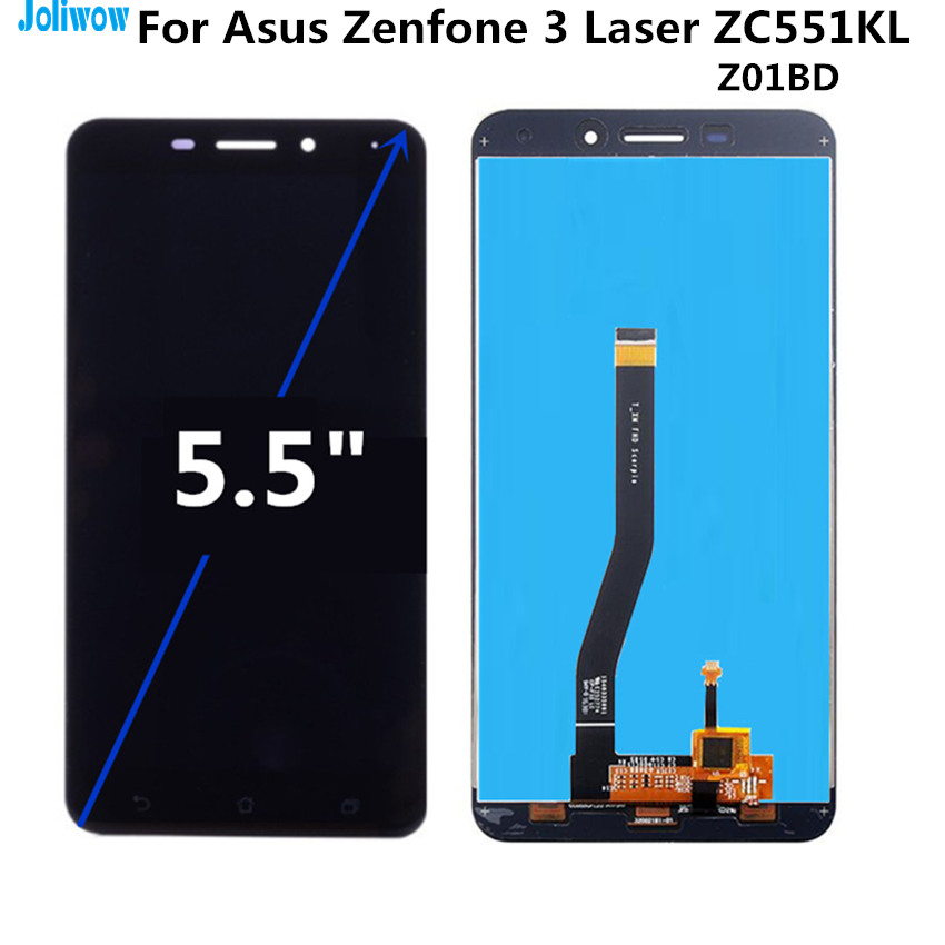Tested For Asus Zenfone 3 Laser ZC551KL Z01BD LCD Display Touch Screen Digitizer Assembly Replacement Accessories in Mobile Phone LCD Screens from Cellphones Telecommunications
