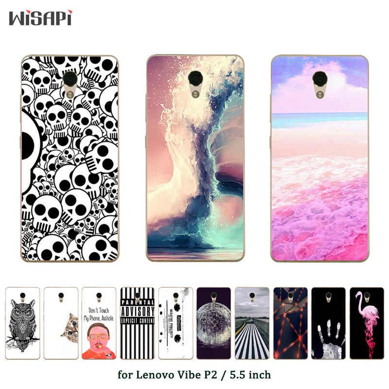 Для lenovo P2 Чехлы для сотовых телефонов из мягкой искусственной кожи ток печатных для lenovo C72 P2c72 P2A40 P2A42 Чехлы для Coque lenovo P2 Fundas