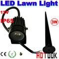 12 V 3 W LED gramado lâmpadas IP65 Waterproof caminho paisagem luzes ao ar livre jardim lagoa luz garantia 2 anos CE RoHS - Dropship