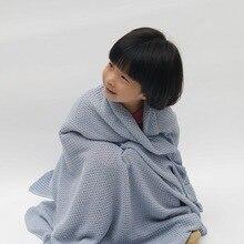 Пеленальное Одеяло для новорожденных, мусульманское детское одеяло, постельные принадлежности, 85*140 см, зимнее одеяло, вязаное Пеленальное Одеяло