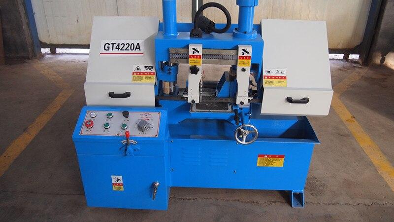 GH-4220A hydraulic cutting band saw metal sawing machine cutting machinery tools 96pcs 130mm scroll saw blade 12 lots jig cutting wood metal spiral teeth 1 8 12pcs lots 8 96pcs