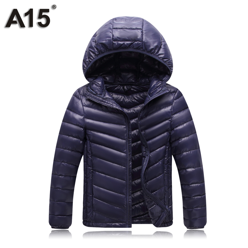 Image 2 - A15 Children Clothing Boys Winter Jacket 2019 Brand Hooded Kids Girls Winter Coat Long Sleeve Warm Parka Outwears Big 10 12 Year-in Down & Parkas from Mother & Kids