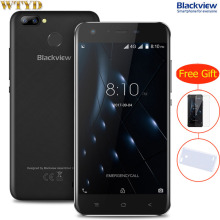 Blackview A7 Pro RAM 2GB+ROM 16GB Dual Back Cameras Fingerprint Identification 5.0'' Android 7.0 MTK6737 Quad Core up to 1.3GHz(China)
