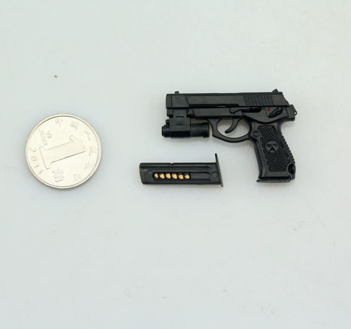 Black Plastic Pistol Model 1//6 QSZ92 Semi-automatic Gun Toys Accessory F Figure