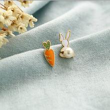 Милые эмалированные жемчужные серьги новинка Лидер продаж модные