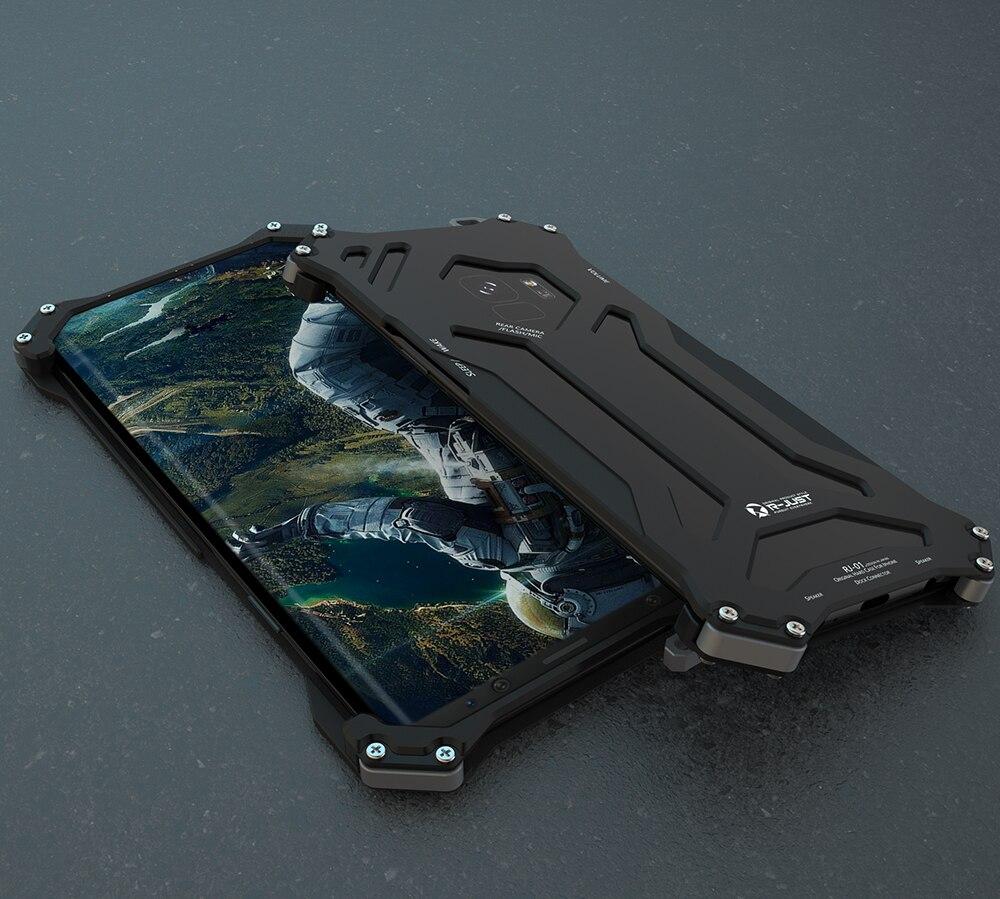 Preuve frapper Aircraft Métal Protecteur Cas Pour Samsung Galaxy S9 G9600/S9 Plus S9 + G9650 Folâtre la Couverture Shell Mince Lumière poids