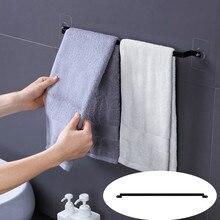 Полотенце для ванной, кухни стеллаж для хранения никаких следов железная вешалка полотенце для ванной, кухни стойки Железный контейнер для хранения без перфорации