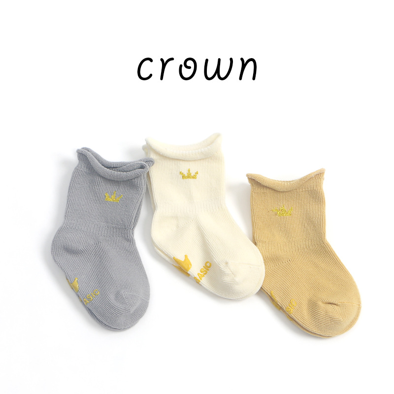 1pair/lot Newborn Baby's thick socks baby girls boys winter socks Pure Cotton Soft Socks Boys Girls Loose Comfortbale Socks