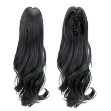 18″ Ponytail Wig Clip In Hair Extensions Claw Clip on Pony tail Hair Extension Hair Pieces Ponytail Fake Hair Heat Resistant Wig