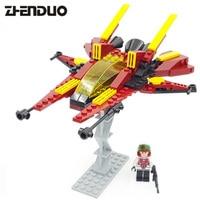 Gudi 8609 145Pcs Star Wars Space Fighter Model Building Blocks Classic Enlighten DIY Figure Toys For