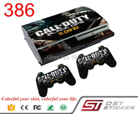 OSTSTICKER New C and D Vinyl Decal For PS3 Fat Skin Stickers Wrap For Sony PlayStation 3 Console and 2 Controllers Decal