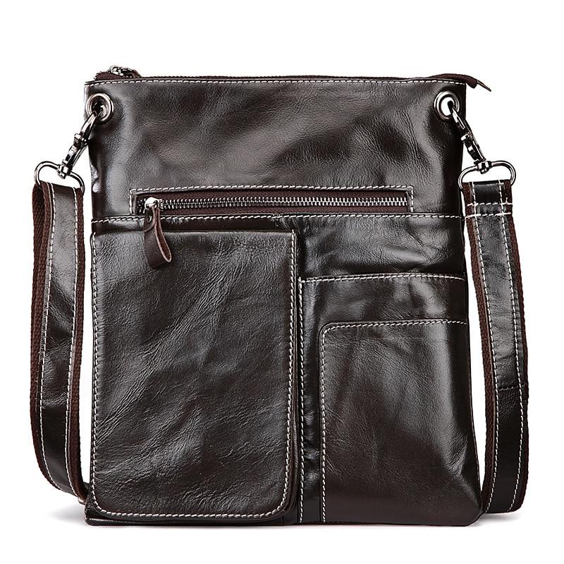 Genuine Leather Men Bags Nature Cowhide Leather Male Bag Men's Briefcase Shoulder Bags Man Messenger Cross Body Handbags все цены
