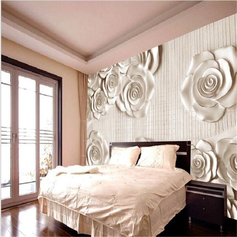 gr ne rose tapete kaufen billiggr ne rose tapete partien aus china gr ne rose tapete lieferanten. Black Bedroom Furniture Sets. Home Design Ideas