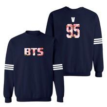 BTS Navy Blue 4XL New Women Hoodies Sweatshirts for Winter and Bangtan Boys Brand Hoodies Women Gray 3xl xxs