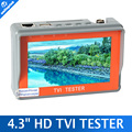 "Portable 4.3"" LCD Monitor TVI CCTV Camera Tester Security Surveillance HD-TVI Camera Tester Analog TVI Tester Video/Cable Test"