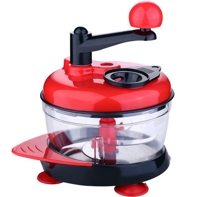 Manual meat vegetable slicer grinder and cutter 1500ml