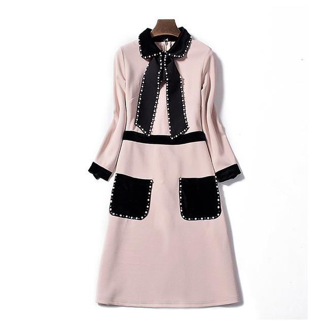 European Black Pearl Dress