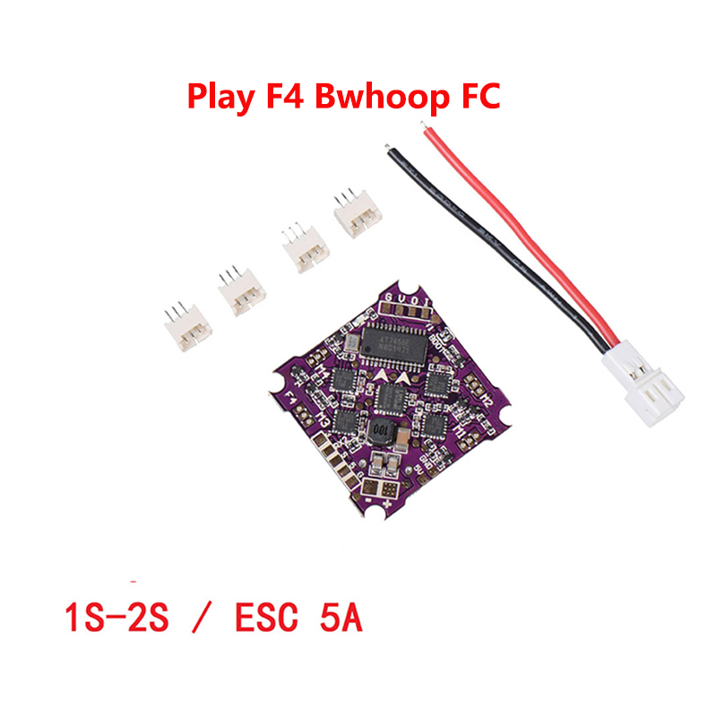 Play F4 Bwhoop Flight Control 1-2S Integrated 4 In 1 Brushless ESC Support DSHOT Oneshot125 Multishot PWM For FPV Racing Drone