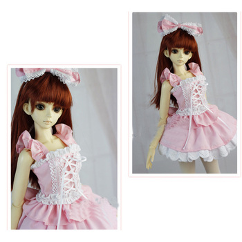 [ Wamami ] 129 # розовый платье принцессы / костюм 1/3 SD DOD бжд dollfie