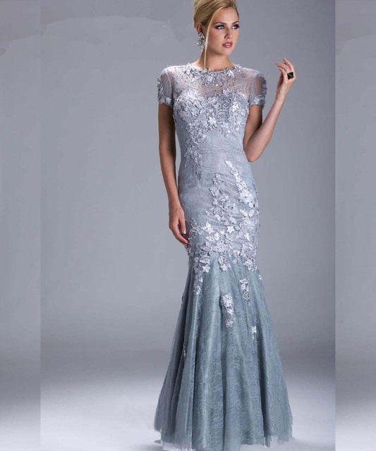 Elegant Mother Of The Bride Lace Dress Plus Size Formal Short