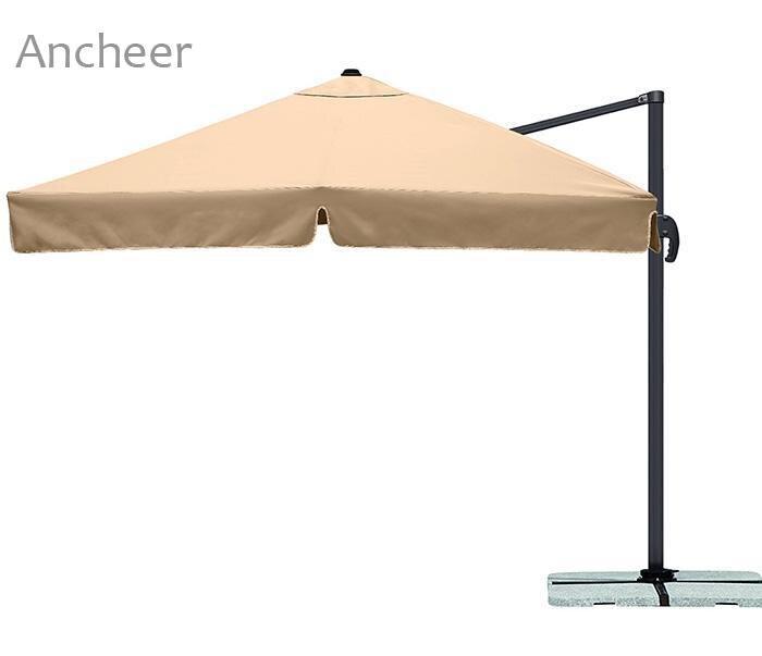 Sun Camping Shelter 3M Waterproof Garden Parasol Patio Sun Shade Hanging Umbrella ...