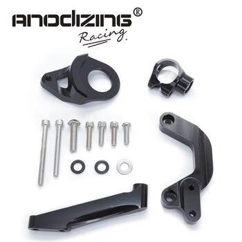 For SUZUKI GSXR1000 2009-2018 Motorcycles Adjustable Steering Stabilize Damper Bracket Mount Support Kit Accessories