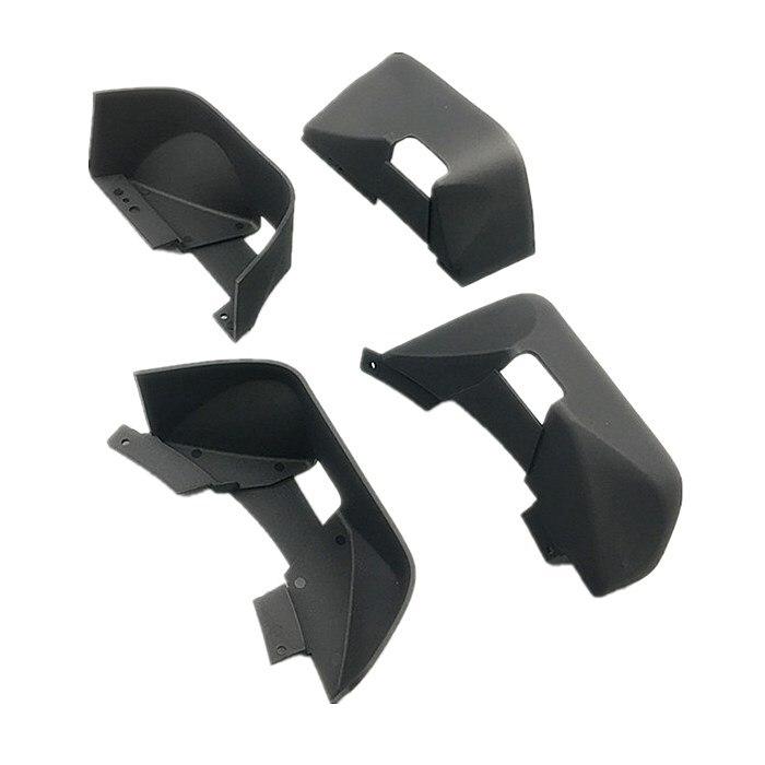 KYX Racing Nylon Fender/Mud Guard for RC Crawler Car Axial SCX10 II Wrangler Hard Body 313mmParts & Accessories   -