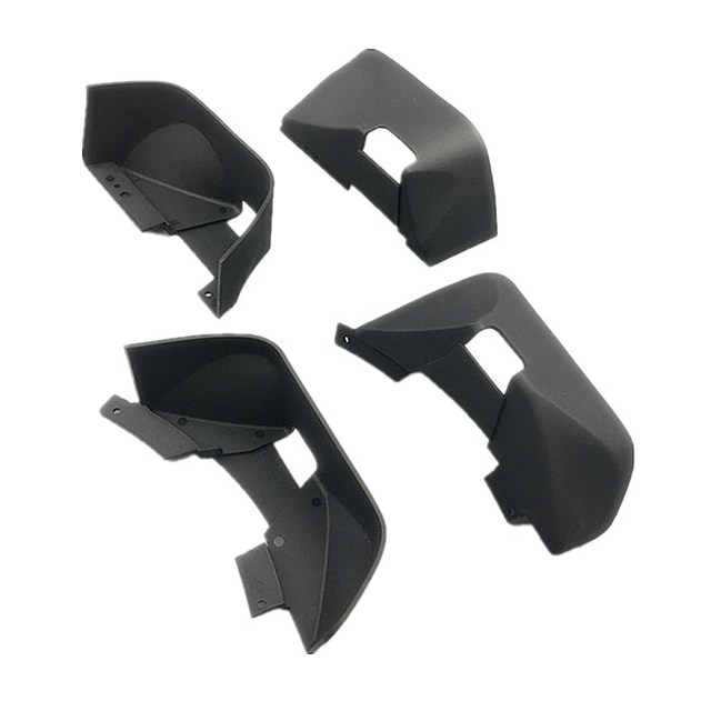 KYX Racing Nylon Fender/Mud Guard for RC Crawler Car Axial SCX10 II Wrangler Hard Body 313mm